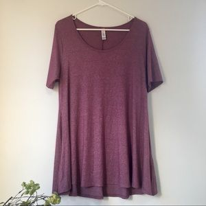 LulaRoe Mauve Purple Perfect T
